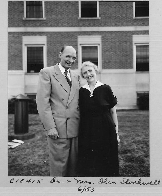 Stockwell, F. Olin and Esther (1900-1992)