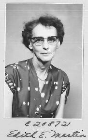 Martin, Edith (1900-1979)